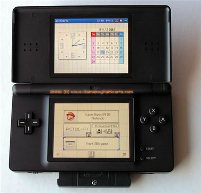 nds roms ds lite menu
