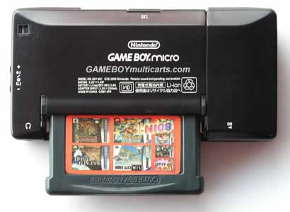 game boy micro multicarts