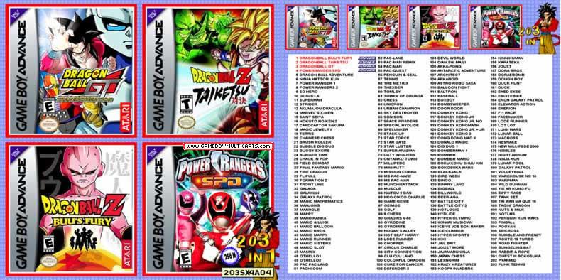 dragon ball z game boy advance free download